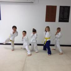 Future black belts at Boca Raton karate & kickboxing Academy